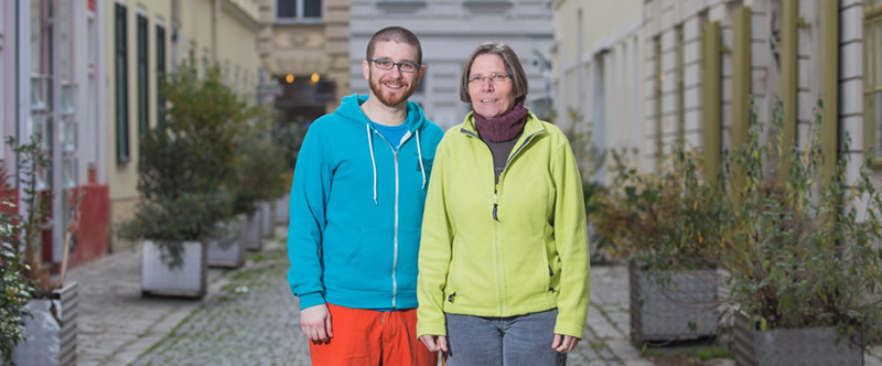 Team: Martin David Preyer und Christine Baumgartner